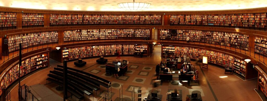 library small Library Science Courses